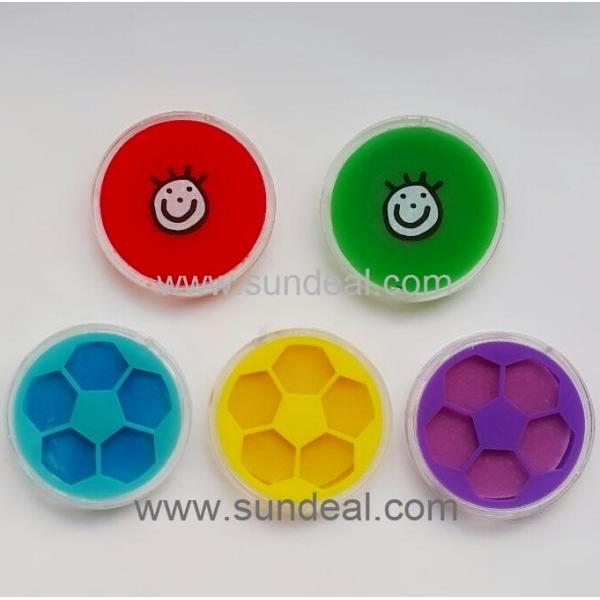 Crystal-round-SMILE magic NANO pad air freshener(soccer)
